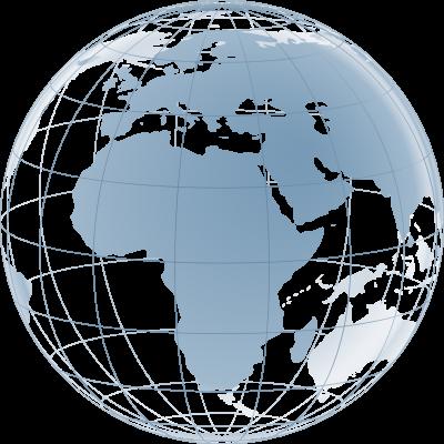 Globus_Afrika_400